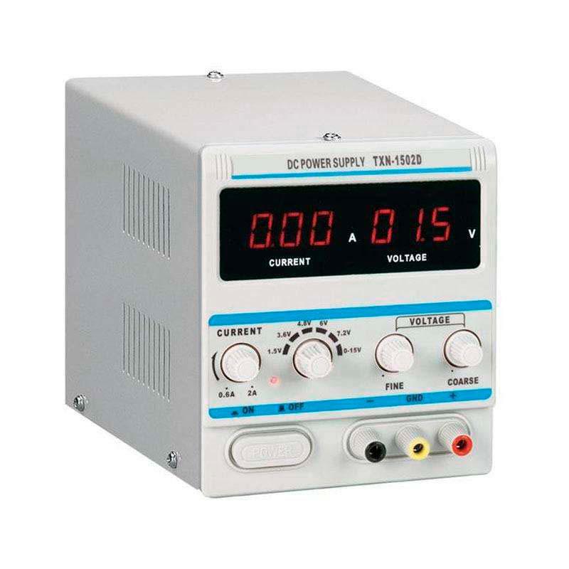 Fuente de alimentación DC15V/2A Regulable