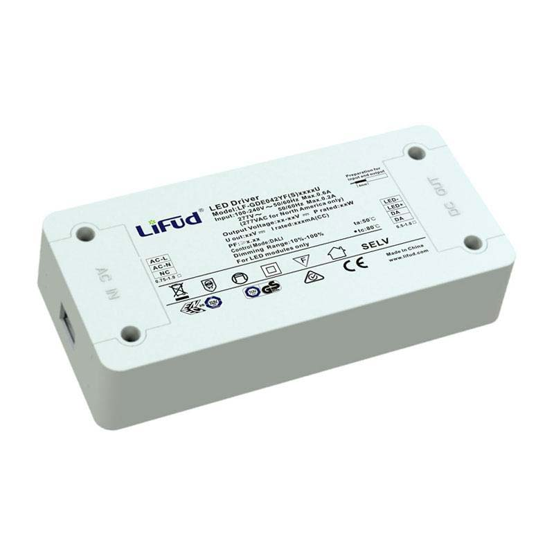 LED Driver LIFUD DC27-42V/40W/950mA, Regulavel DALI