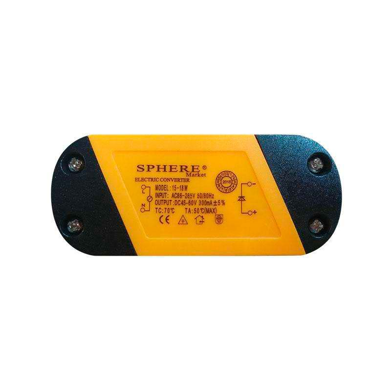 LED Driver 45-60VDC/18W/300mA