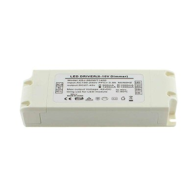 LED Driver TUV DC27-40V/50W/1200mA, Regulable 0-10V, , Regulable