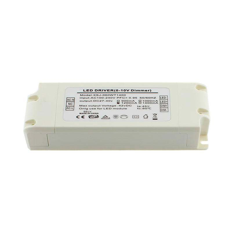 LED Driver TUV DC27-40V/50W/1200mA, Regulable 0-10V