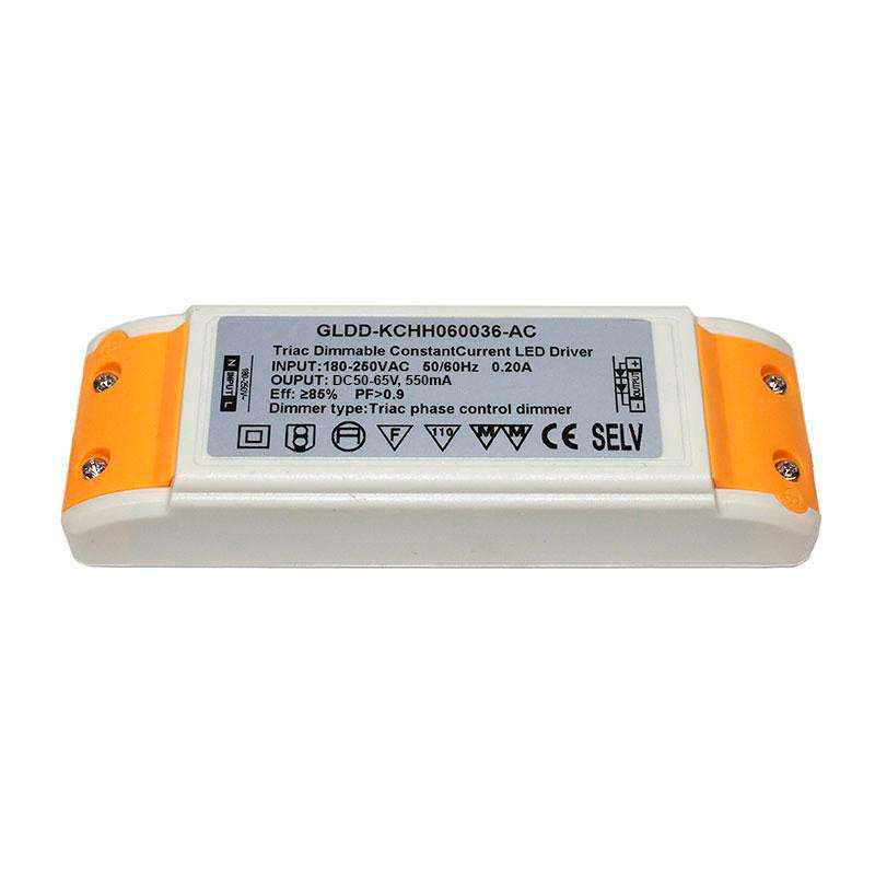 Driver para panel LED DC50-65V/40W/550mA Regulable