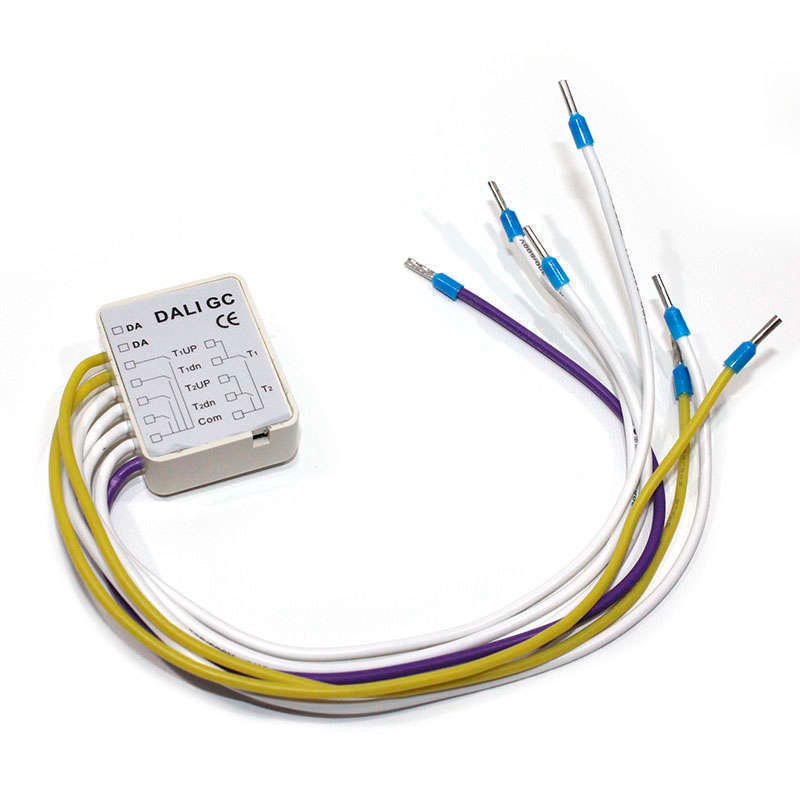 DALI Group Dimmer Module 4Ch