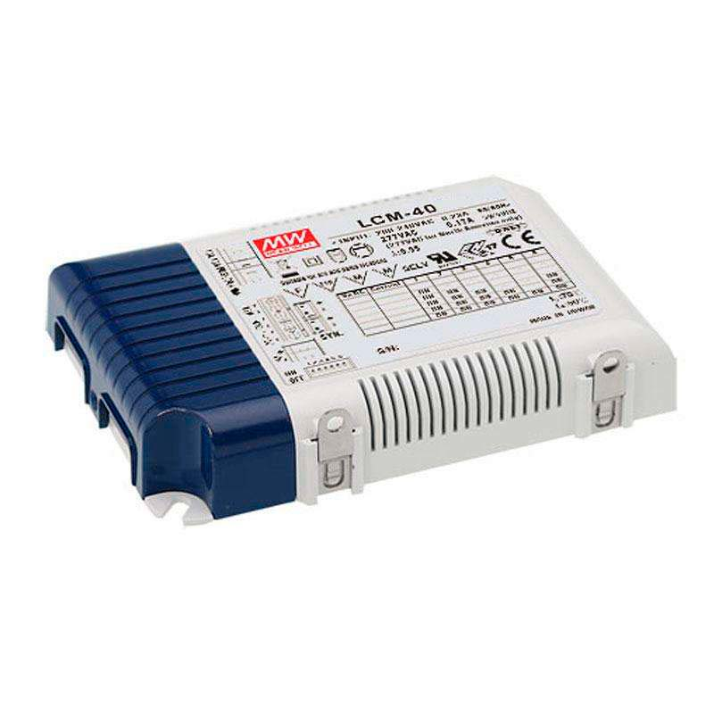 LED Driver MEAN WELL Ajustable LCM-40, 0-10V, PWM