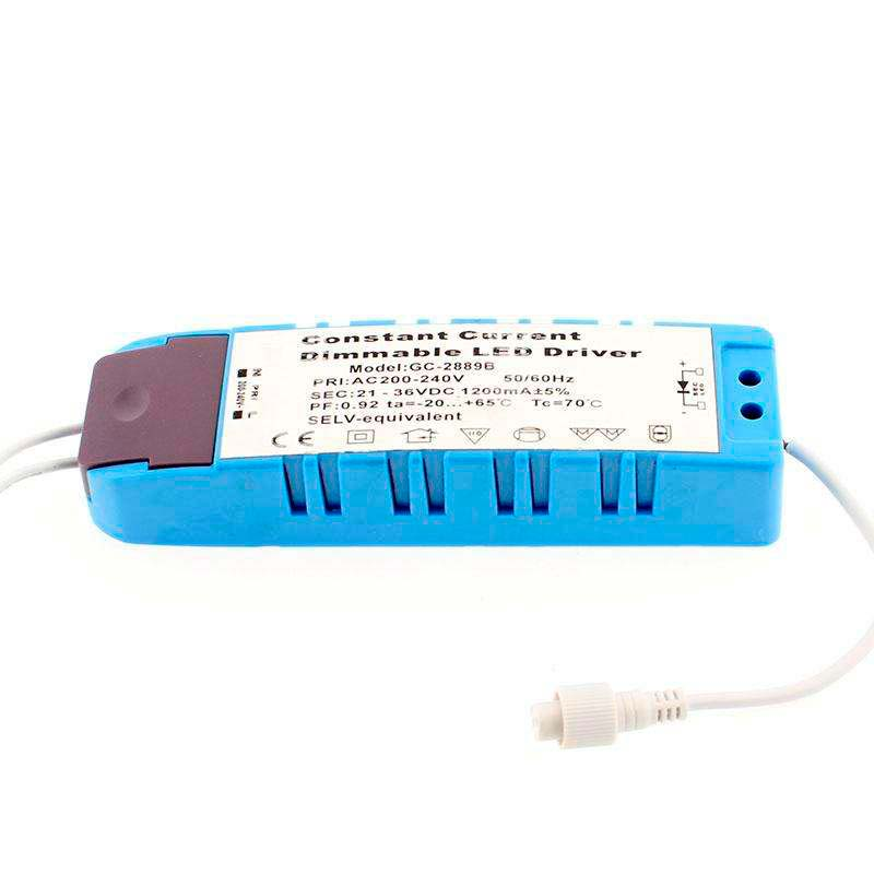 LED Driver DC21-36V/43W/1200mA, Regulable
