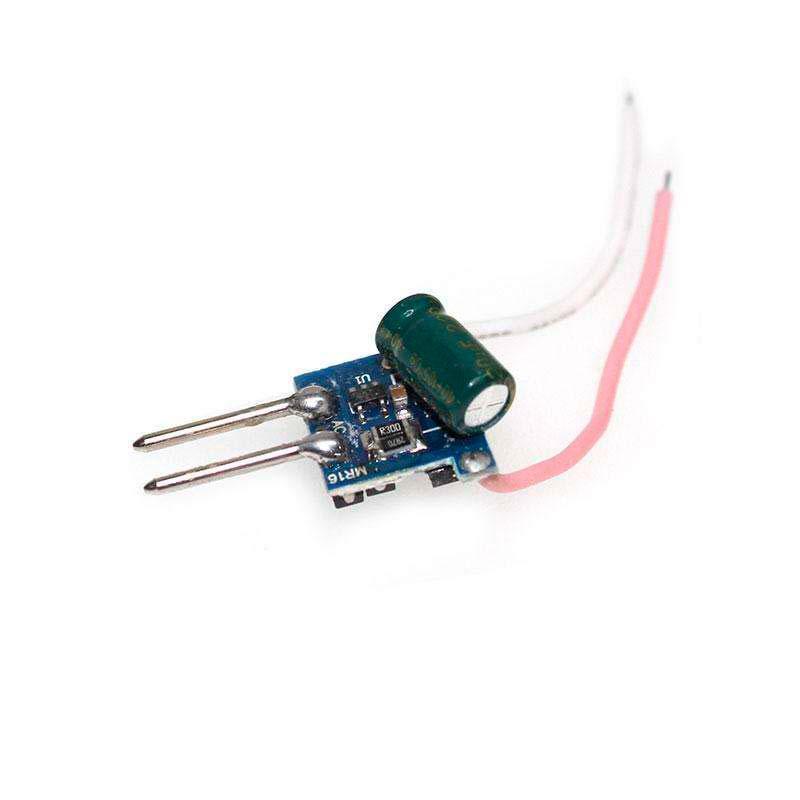 LED Driver entrada 12VAC, salida DC12V/3x1W/350mA,