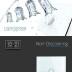 Interruptor táctil con temporizador, frontal blanco