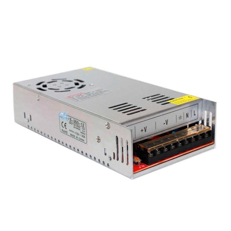 Source d'alimentation LED 12V/360W/30A, en intérieurs