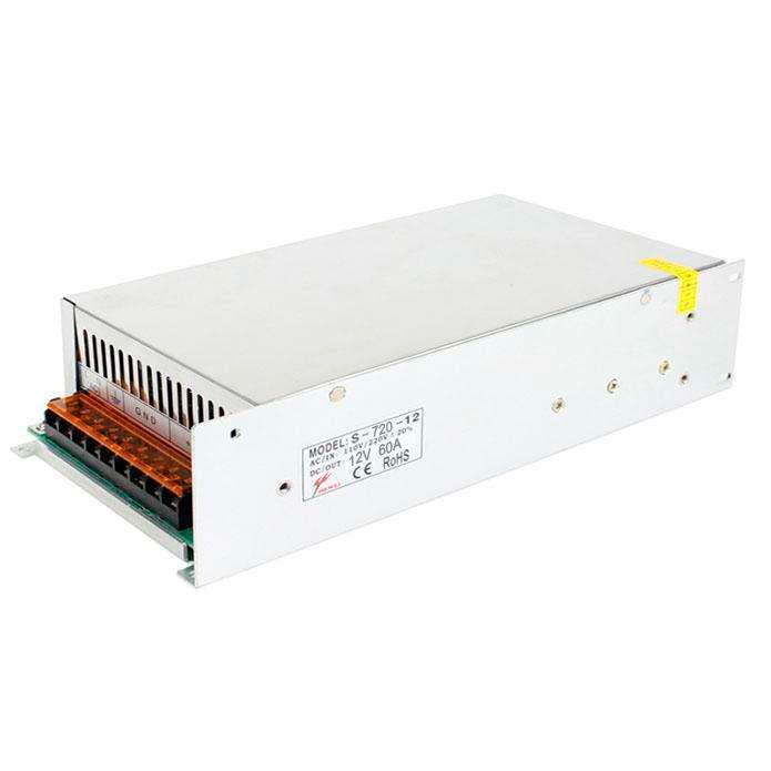Fuente de alimentación DC12V/720W/60A