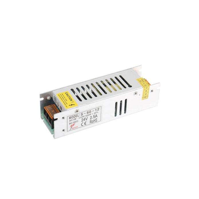 Fuente de alimentación conmutada DC24V/60W/2,5A