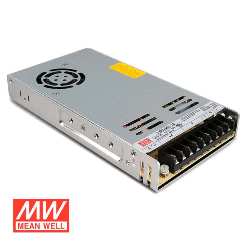 Fuente de alimentación 12V/350W/29A Mean Well LRS-350-12