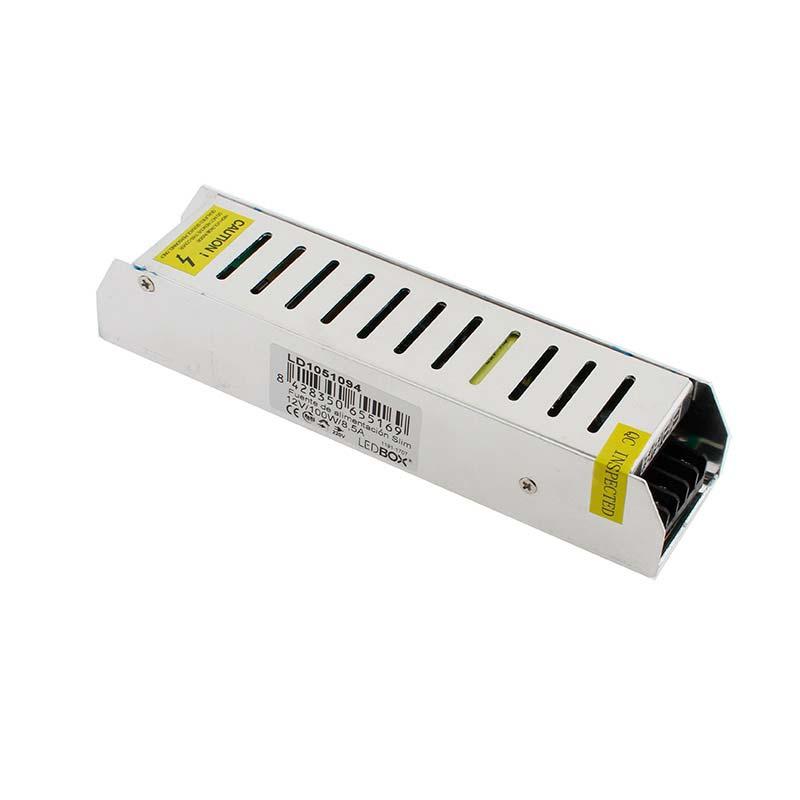 Fuente de alimentación Slim DC12V/100W/8,5A
