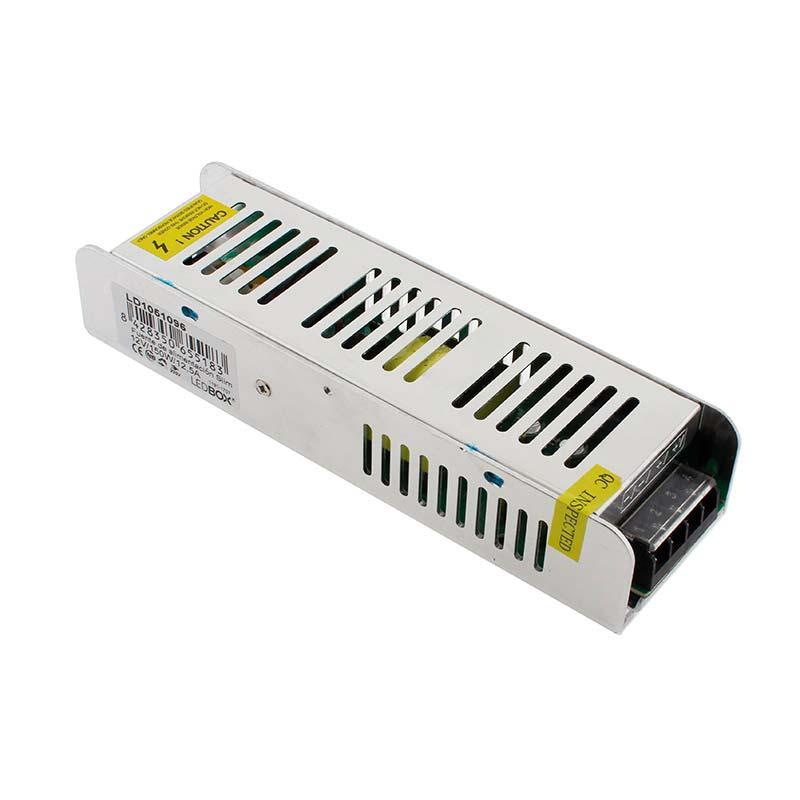 Fuente de alimentación Slim DC12V/150W/12,5A