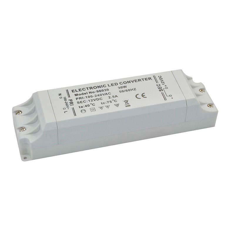 Fuente de alimentación DC12V/30W/2,5A