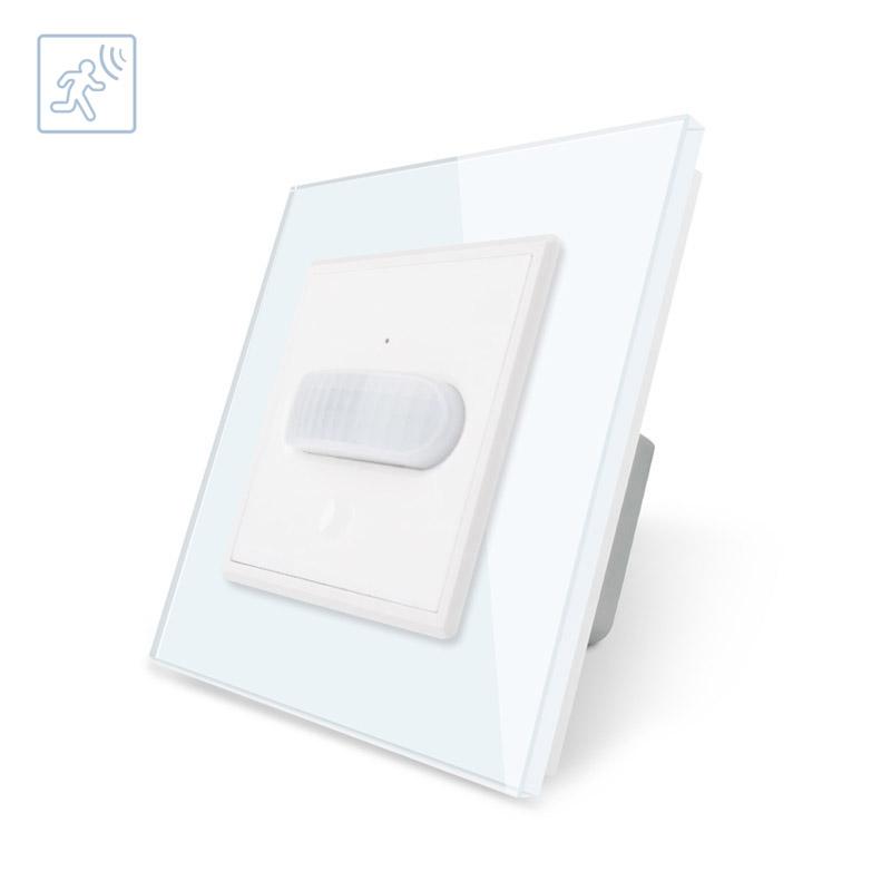 Sensor de movimiento PIR, blanco