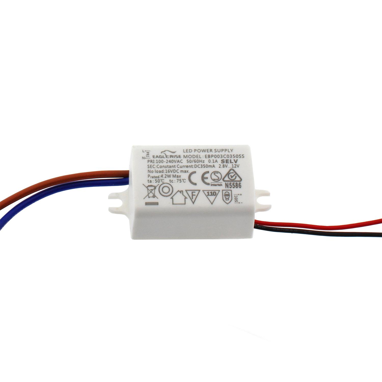 LED Driver DC2,8-12V/1-3x1W/350mA