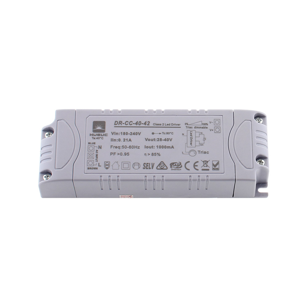 LED Driver DC28-40V/40W/1000mA, TRIAC Regulable