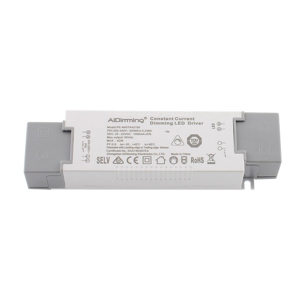 LED Driver DC25-42V/40W/1000mA, TRIAC Regulable