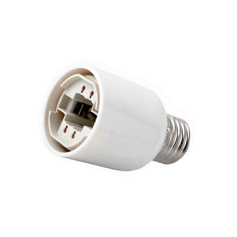 Adaptador / conversor para lâmpadas G24 a E27