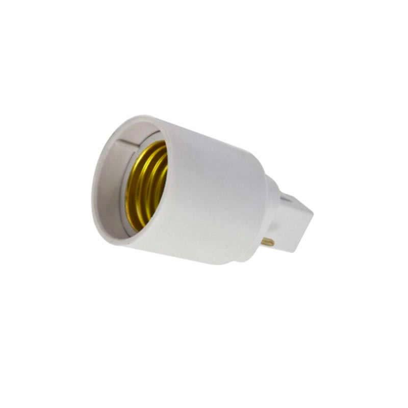 Adaptador / conversor para bombillas de E27 a G24