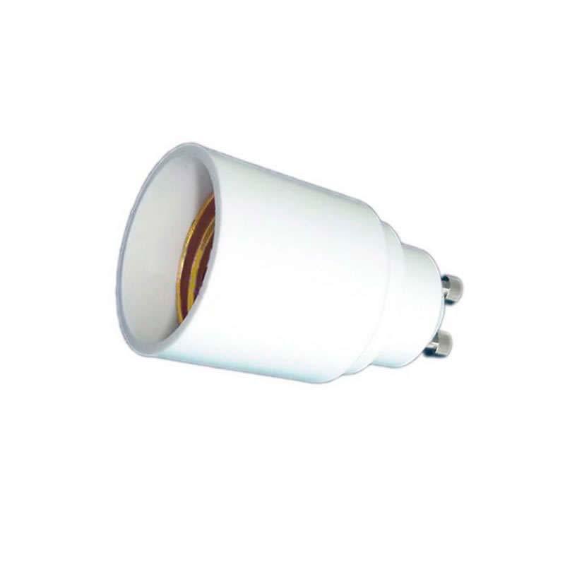 Adaptador / conversor para bombillas E27 a GU10