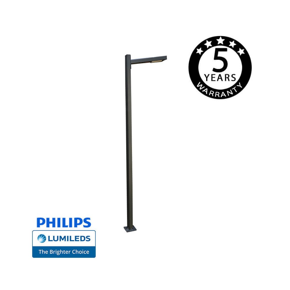 Farola LED SKOG 50W  Chipled Philips Lumileds, 6m
