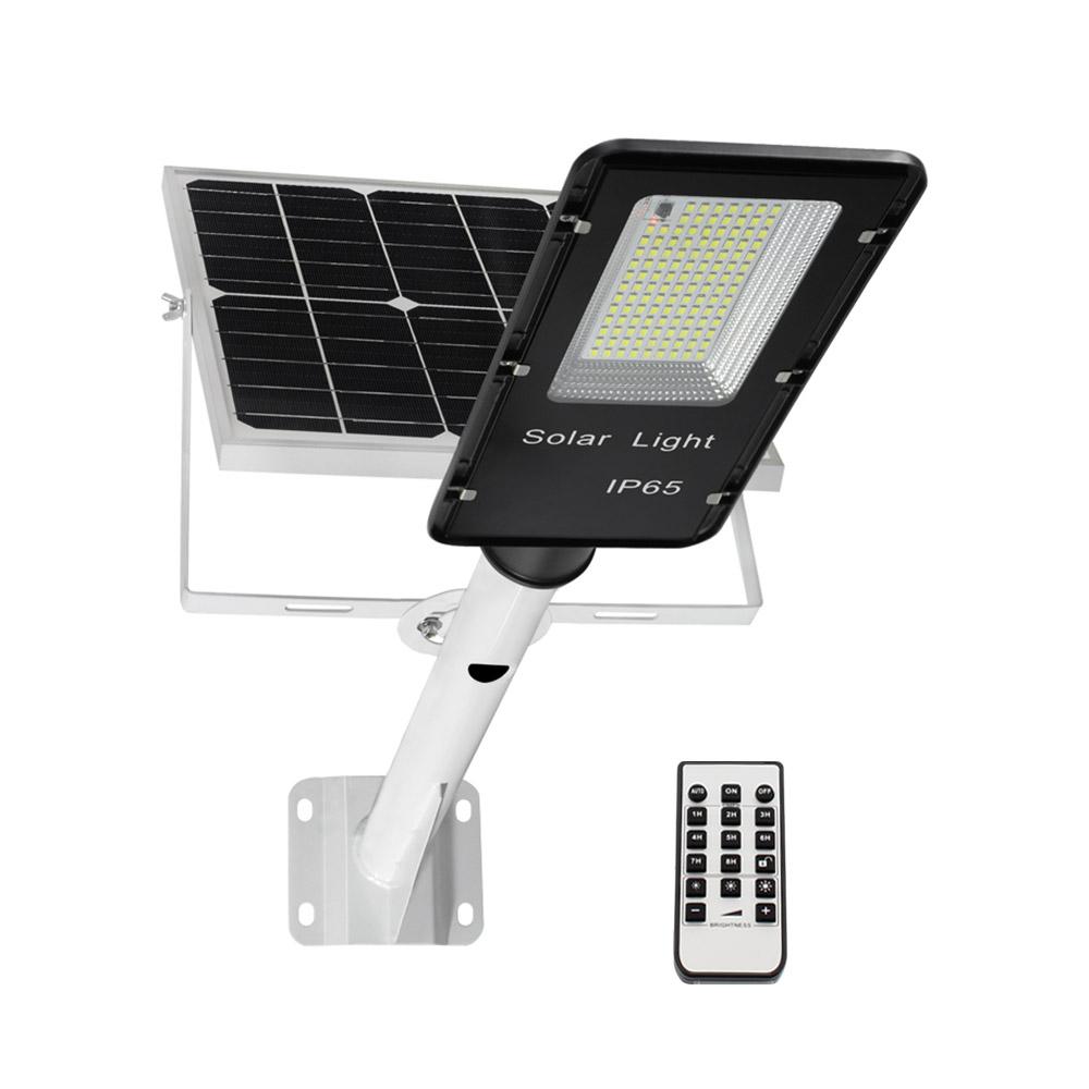 Farola LED Solar URBAN 100W + Mando a distancia