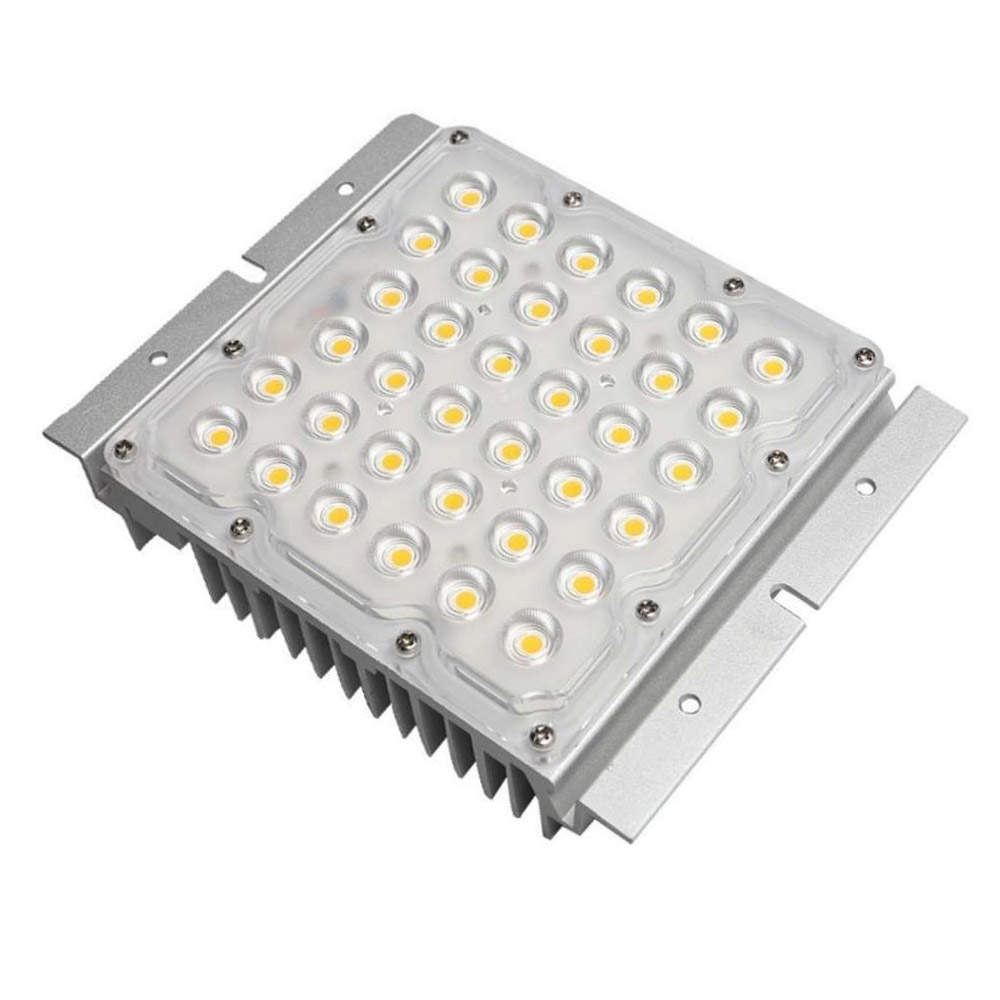 Módulo LED 10-65W chip BRIDGELUX, Driver Philips programable para Farolas