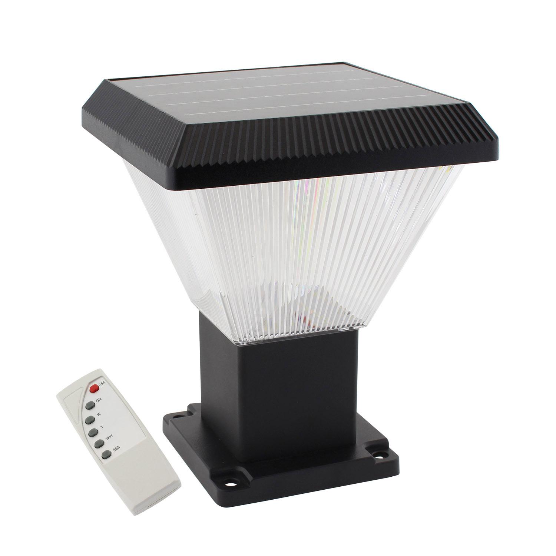 Farola LED Solar VILLA S3 UFO 60W, CCT+RGB