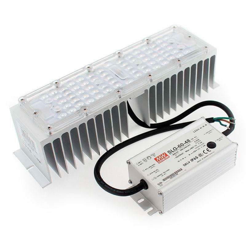 Kit LED Farola Fernandina y Villa, chip 60W + Mean Well