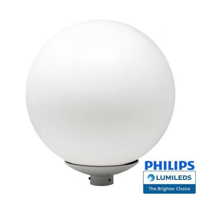Farola LED GLOBO, 40W Chipled Philips Lumileds, Blanco cálido