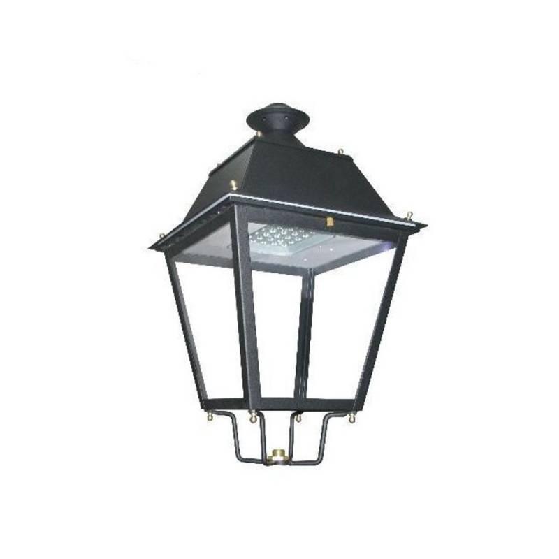Farola Villa LED Acero 100W Chipled Philips Lumileds