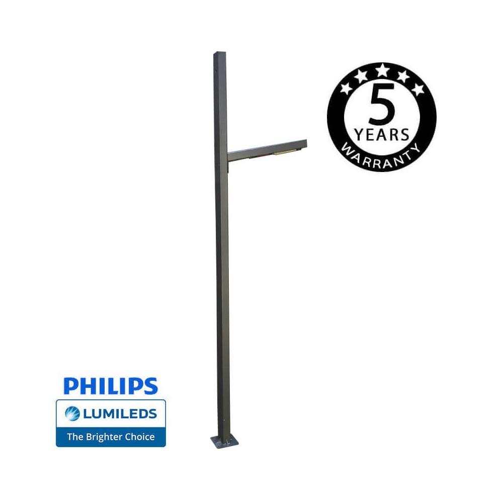 Farola LED BLAD 50W  Chipled Philips Lumileds, 6m