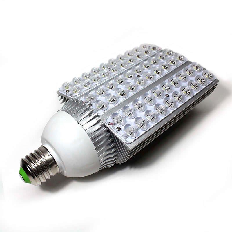 Bombilla led para farolas road 60w ledbox for Bombilla sensor crepuscular