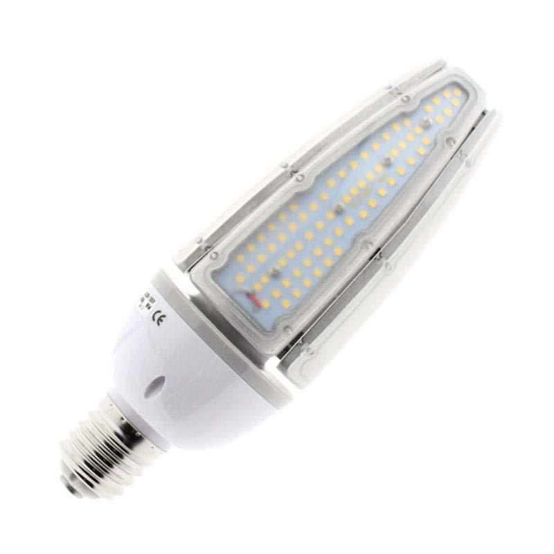 Bombilla LED E40 para farolas, 40W, chip Samsung