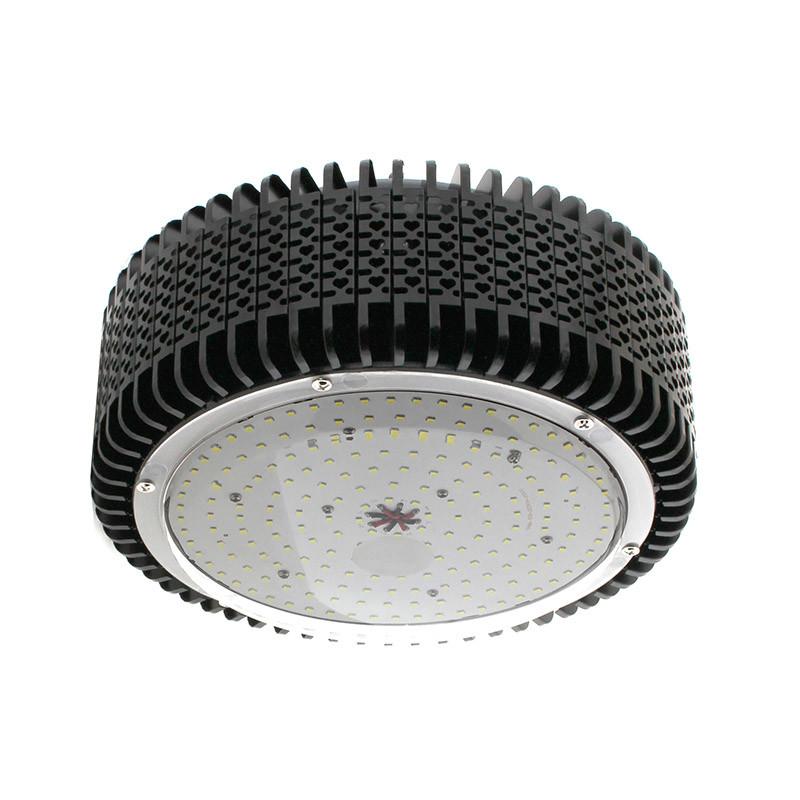 Campana LED industrial 200W,  Chipled OSRAM, IC Driverless, Blanco frío