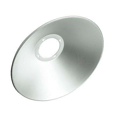 Reflector aluminio 120º para lâmpada industrial, Ø180mm