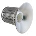 Campana LED industrial 200W, chip led Osram + MeanWell driver
