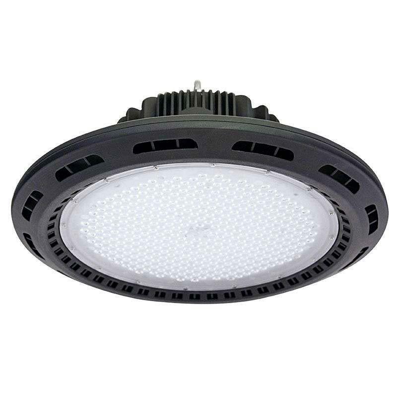 Campana industrial UFO 240W CREE led + MeanWell driver 1-10V regulable
