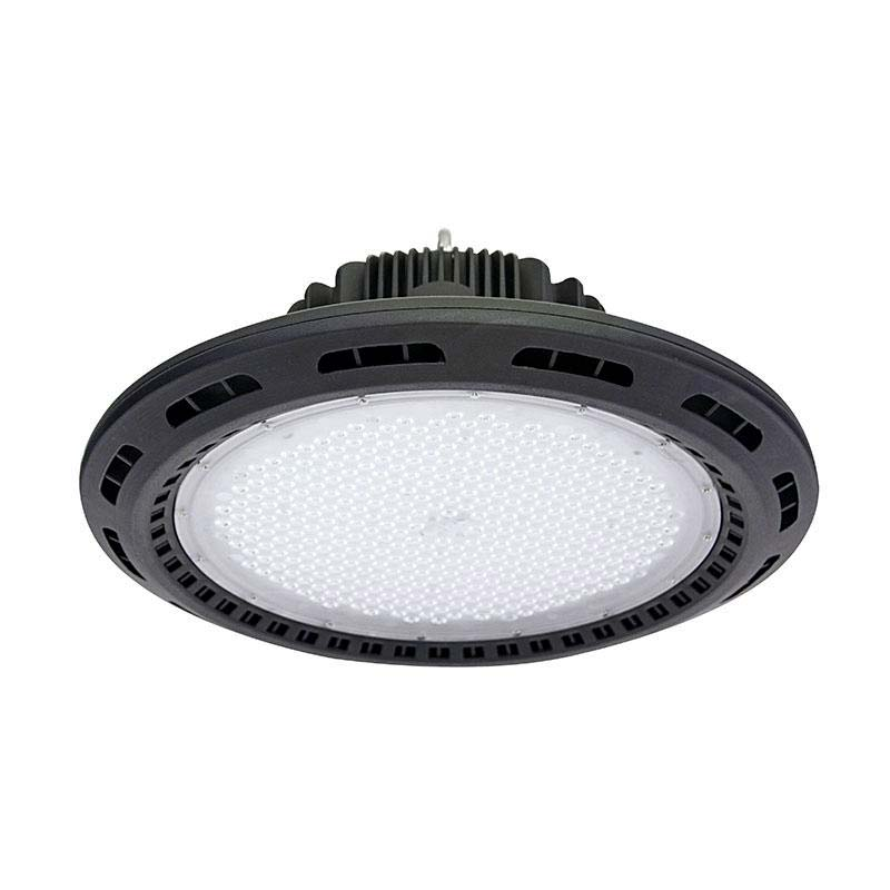 Campana industrial UFO 120W CREE led + MeanWell driver 1-10V regulable