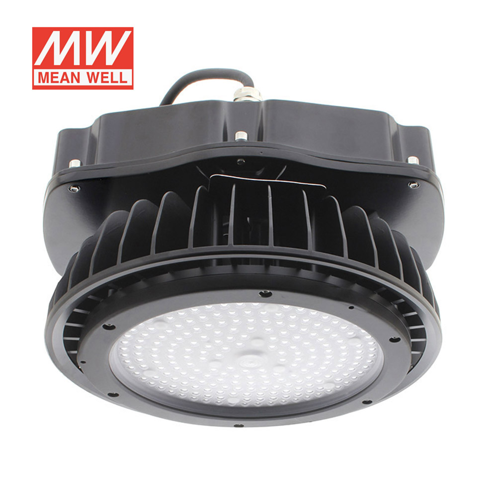 Campana industrial UFO HB 150W, ChipLed Samsung + MeanWell driver DALI regulable