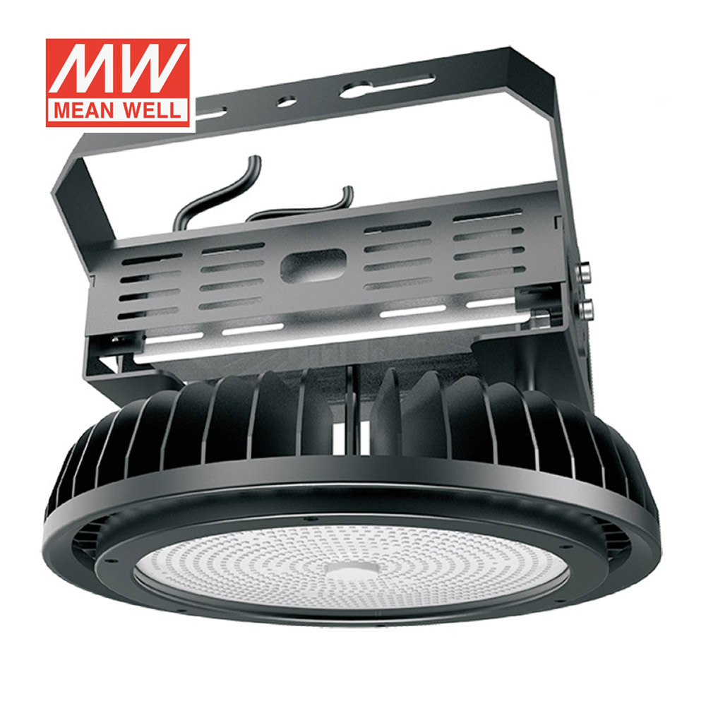 Campana industrial UFO HB 500W, NICHIA led + MeanWell driver 1-10V regulable