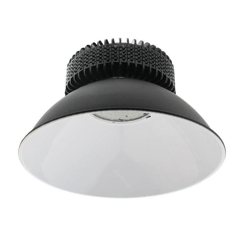 Campana LED industrial 150W, chipled OSRAM, IC Driverless, Blanco frío