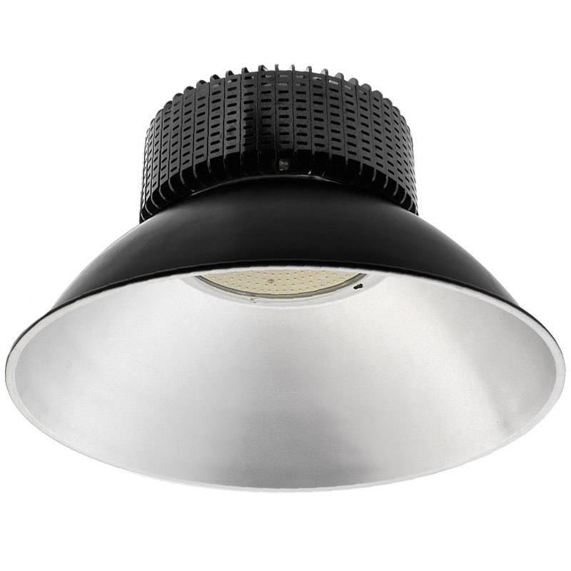 Campana LED industrial 250W, chipled OSRAM, IC Driverless, Blanco frío