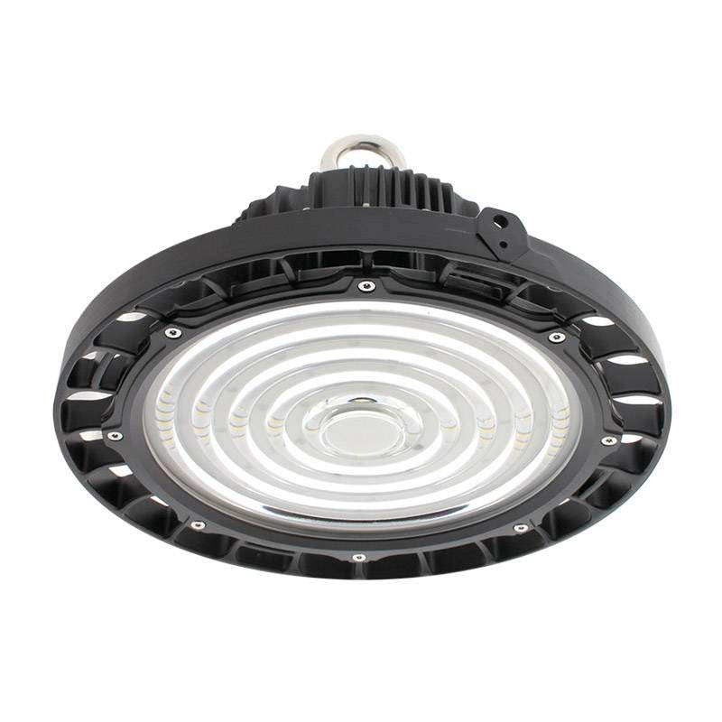 Campana Industrial LED UFO, 150W, Bridgelux, TRIAC Regulable