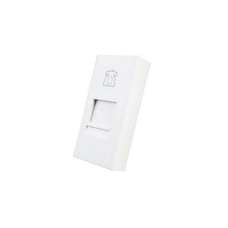 Conector Teléfono RJ11 blanco
