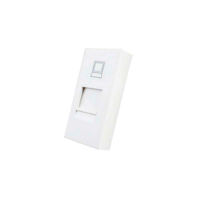 Conector Red RJ45 blanco