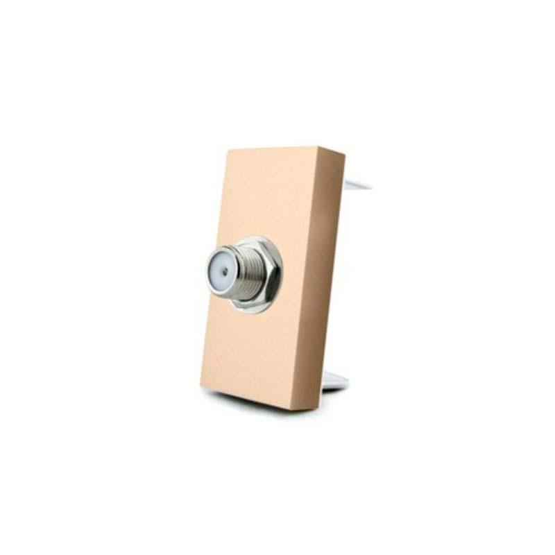 Conector  SAT golden para mecanismo de empotrar