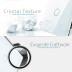 Frontal 3x cristal blanco, 3 botones
