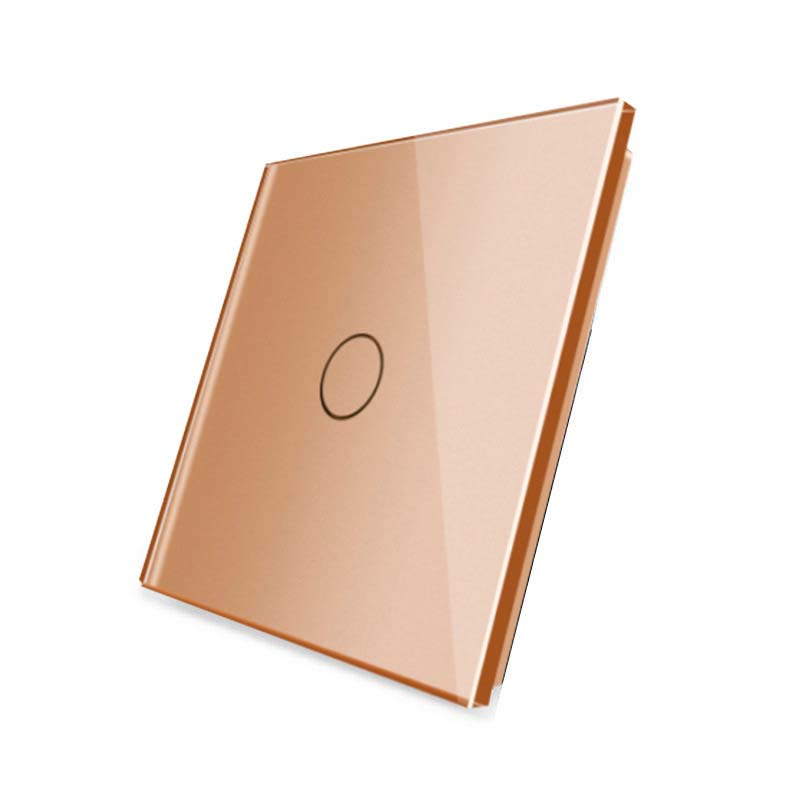 Frontal 1x cristal golden, 1 botón